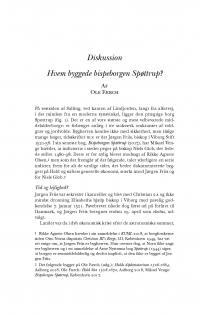 HT 2020:1, s. 146-150 - Ole Færch: Hvem byggede bispeborgen Spøttrup?