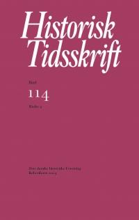 Historisk Tidsskrift 2014:2