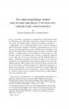 HT 2019:2, s. 435-470 - Rasmus Mariager & Anders Wivel: Den tilpasningsdygtige småstat. Fire danske krigsbeslutninger i den amerikanske verdensorden.