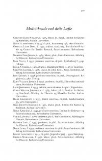 HT 2017:1, s. 327-328 - Medvirkende ved dette hæfte