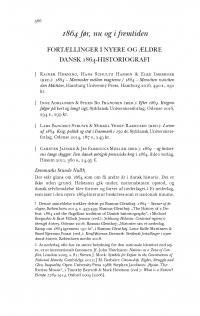 HT 2017:2, s. 566-598 - Rasmus Glenthøj: 1864 før, nu og i fremtiden. Fortællinger i nyere og ældre 1864-historiografi