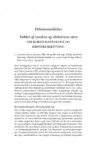HT 2020:2, s. 565-578 - Torben Kjersgaard Nielsen: Vækket af syndens og idolatriens søvn