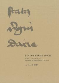 Status Regni Dacie