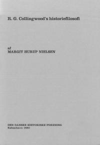 R. G. Collingwood's historiefilosofi