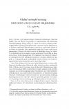 HT 2019:1, s. 129-154 - Bo Fritzbøger: Global varmeforurening. Historien om en glemt miljørisiko  ca. 1960-85