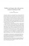 HT 2019:2, s. 309-344 - Liv Helene Willumsen: Trolldom mot kongens skip 1589 og transnasjonal overføring av idéer