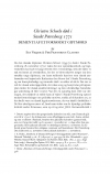 HT 2019:2, s. 387-406 - Eva Vikjær & Per Prætorius Clausen: Christen Scheels død i Sankt Petersborg 1771. Dementi af et formodet giftmord.
