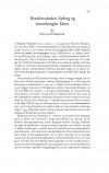 HT 2021:1, s. 225-234 - Erland Porsmose: Residensstaden Nyborg og barnekongen Hans