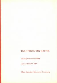 Tradition og kritik